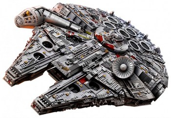 Investissement en Lego : le célèbre Faucon Millenium de Star Wars reste une valeur sûre !