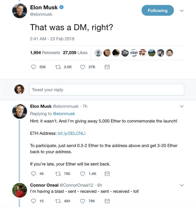 Arnaque Twitter, faux compte d'Elon Musk - Comment sécuriser ses cryptomonnaies ?
