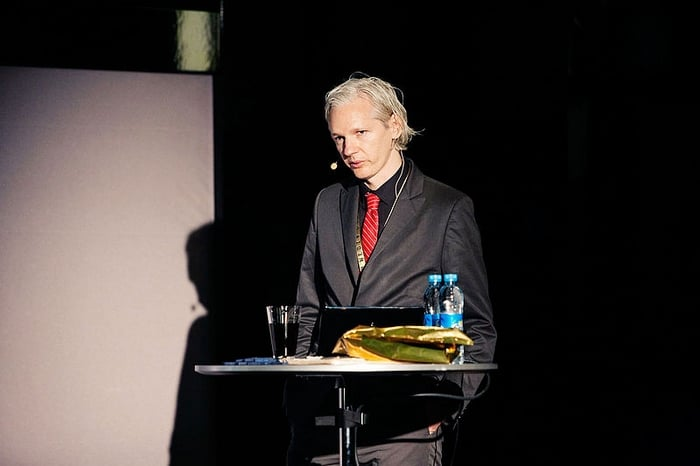 Julian Assange à Copenhague