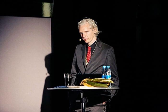 Julian Assange à Copenhague