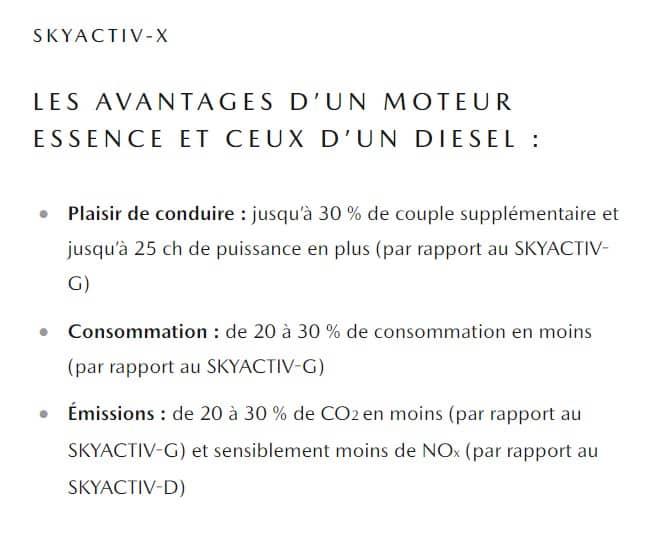 Skyactiv-X de Mazda Motors : le moteur à essence plus avantageux que le diesel
