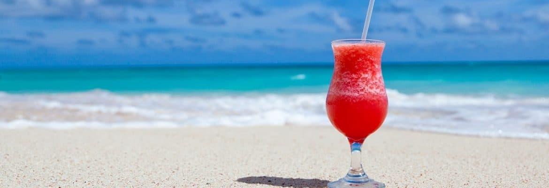 Cocktail de rentier sur la plage