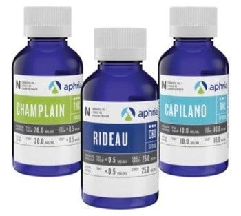 L'huile de cannabis : un des types de produits vendus par Aphria