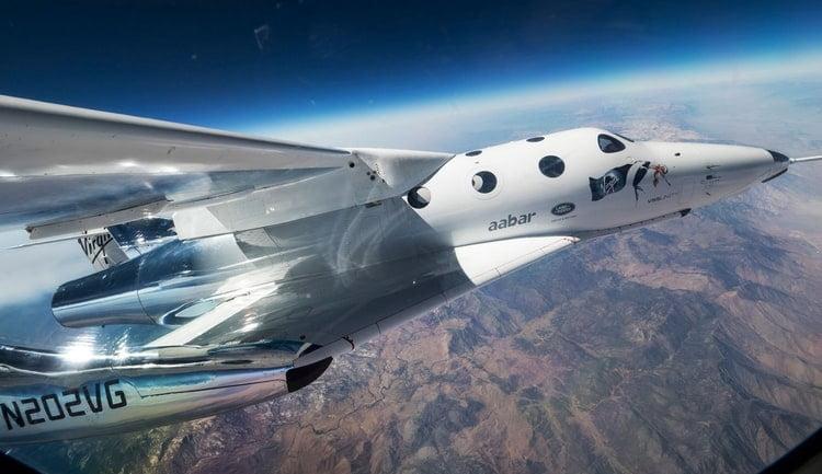 Une navette spatiale de Virgin Galactic Holdings