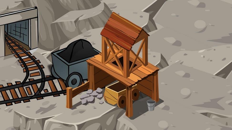 Une mine de métaux précieux