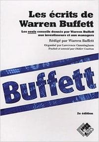 Les écrits de Warren Buffett fait partie des meilleurs livres sur la bourse