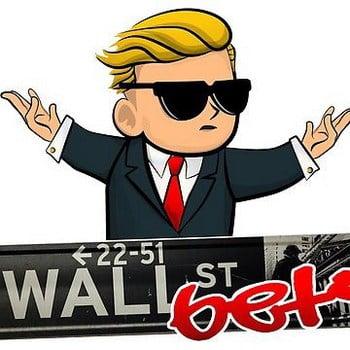 Le logo WallStreetsBets